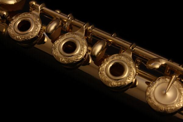 Bouchons de Flutes traversère Parmenon ciselés