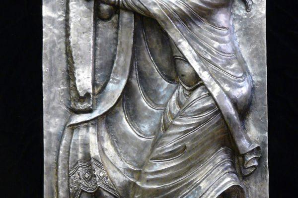 réinprétation pour un particulier du Bas-relief Argent massif Isaïe de Souillac
